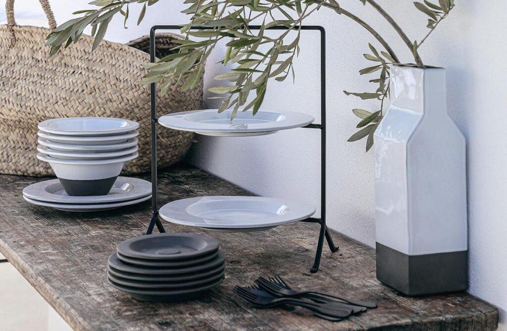 Le collezioni di stoviglie sostenibili in Eco-Gres® di Costa Nova | Livellara Milano